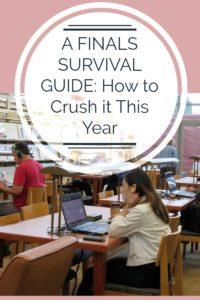 A Finals Survival Guide: How to Crush it This Year